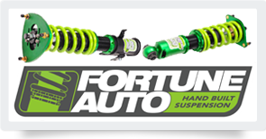 Fortune Auto coilover suspension kit