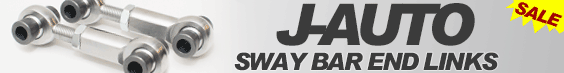 J-AUTO adjustable sway bar links drop links