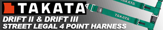 Takata drift harness