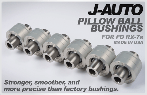 J-AUTO pillow ball bushings FD RX-7