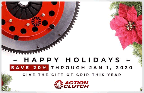 Free shipping Action Clutch