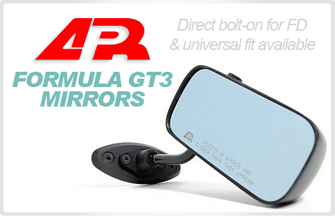 APR Formula GT3 Mirrors for Mazda RX7 FD