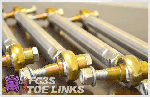 FC RX7 Adjustable Toe Links